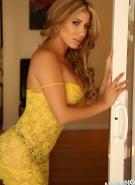 Alluring Vixens Pics Erica Yellow Flowers #7