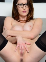 Amber Hahn is a sexy brunette with 32 DD breasts, she has a nice tight body and pussy. Amber loves having lesbian fun and loves to masturbate with her variety of toys. She is a Pacino girl so that makes you get access to all the Pacino sites