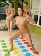 Bailey Misty Carlotta Playing Naked Twister #1