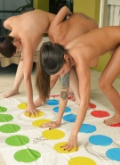 Bailey Misty Carlotta Playing Naked Twister #2