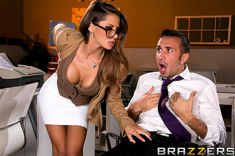 Very Big tits at work madison ivy brazzers you