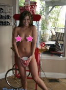 Brooke Lima Gets Naked Eating Popcorn #10