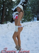 Brooke Lima Naked Snow Bunny #1