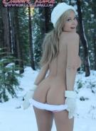 Brooke Lima Naked Snow Bunny #10