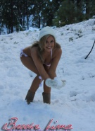 Brooke Lima Naked Snow Bunny #2