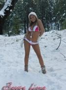 Brooke Lima Naked Snow Bunny #5
