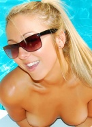 Brooke Marks in Naked Summer Pool Party #11