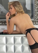 Candice Brielle Pics Black Lingerie #15