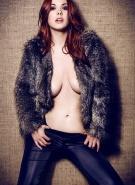 Elizabeth Marxs Pics Red Glamour #7