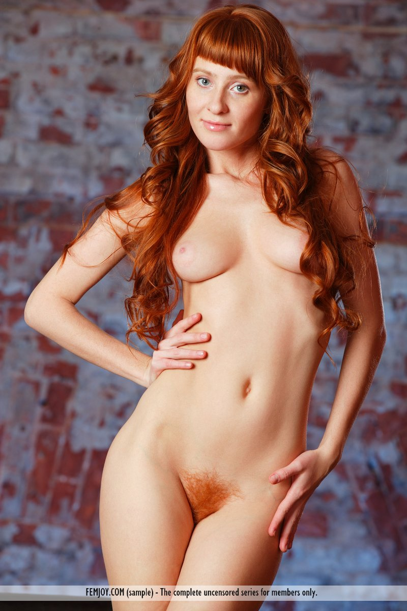 Were visited hairy female redhead nudist
