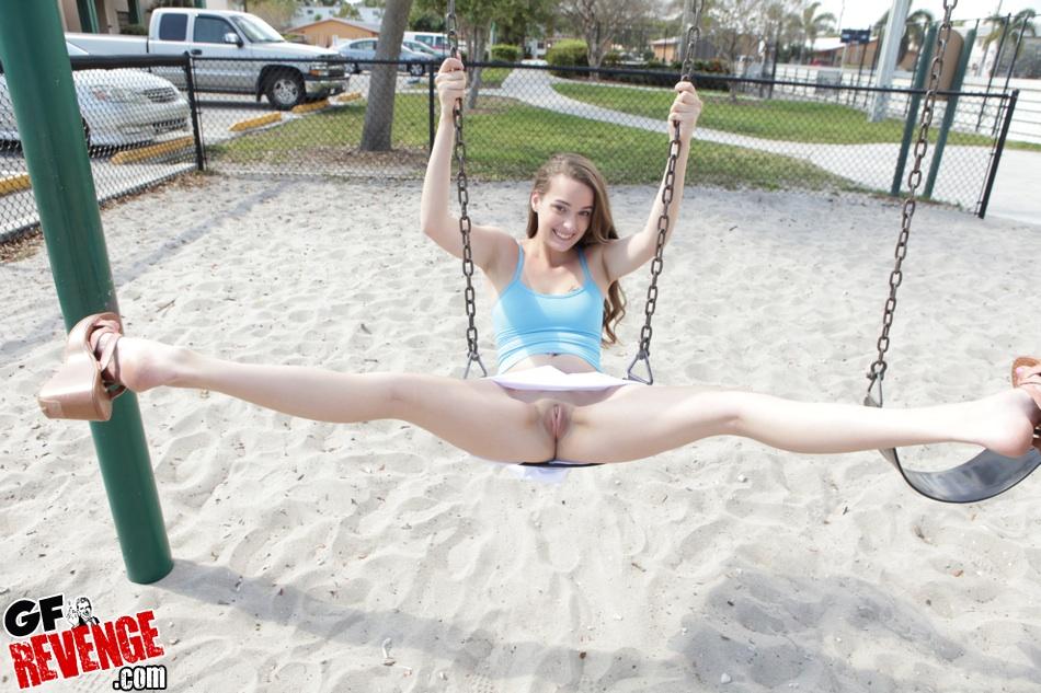 hot naked swinger girl
