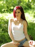 Kylie Cole is a teen who is brand new to modeling and she is ready to show off her cute little body. She has sexy red hair and a great petite body. Kylie looks innocent but don't let her innocence fool you, check her out!