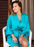 Lacey Banghard Pics Blue Robe #1