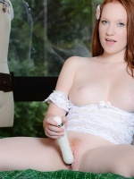 Lucy Ohara is a beautiful redhead who puts a lot of work into her website. Check out all of her high quality videos and pictures. She also does weekly webcam shows for members only!