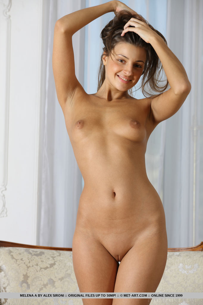 With you met art brunette nude alone!