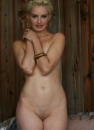 Nextdoor Models Kara Grey Naked in Barn #12