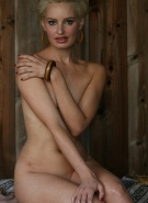 Nextdoor Models Kara Grey Naked in Barn #15