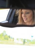 Nikki Sims Topless Road Trip #2