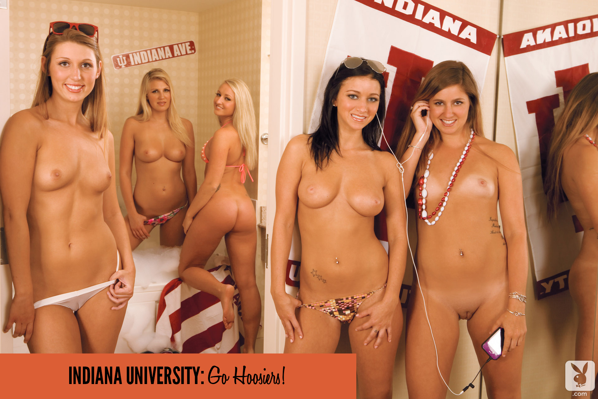 For nude girls of the big ten playboy the