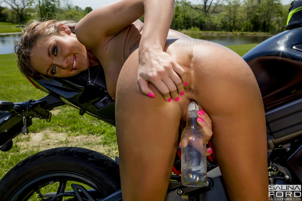 Girls fucked on bike