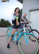 Teen Fidelity Pics Belle Knox Bike Riding #1