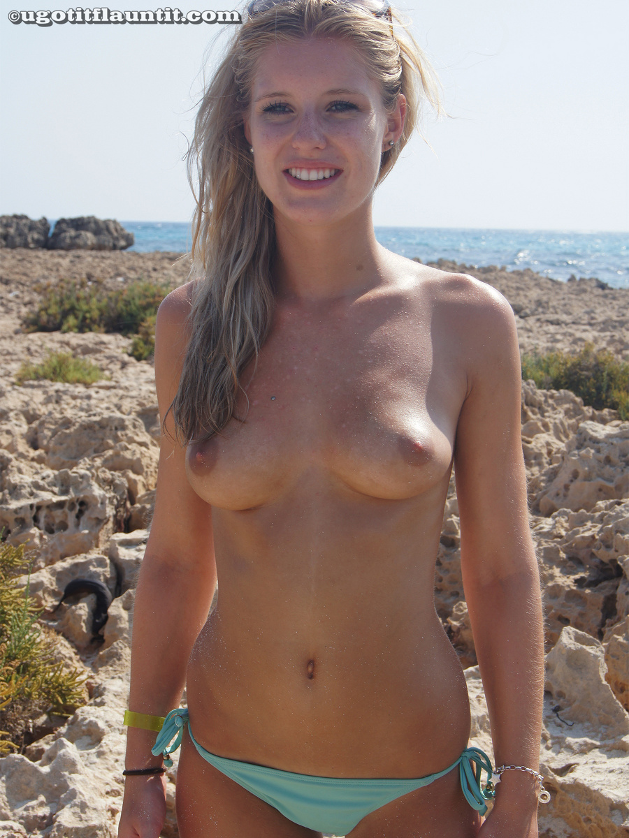 image Busty rachel showing off huge natural tits