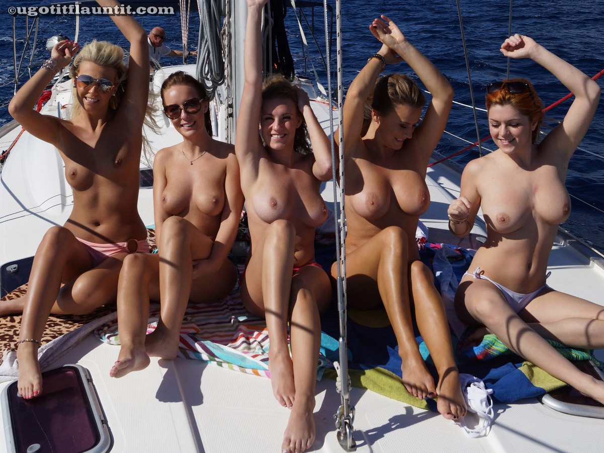 Theme, will Girl naked on boat ride with