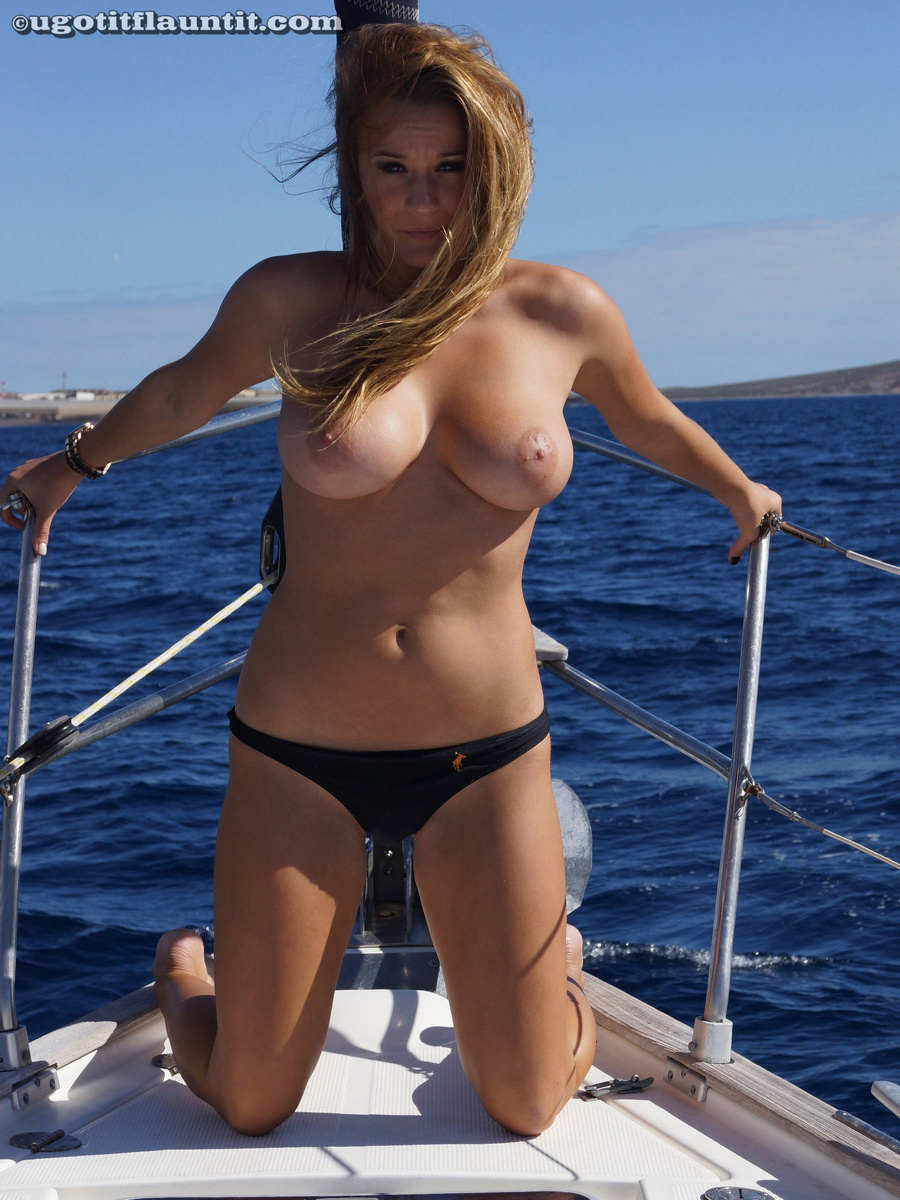Rather Girl naked on boat ride apologise, but