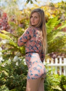 Zishy Pics Holly Benson Blonde Landscaping #1